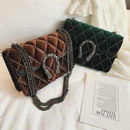 Ladies Briefcase Handbags Australia - 2018 Women Messenger Bags Fashion Chain Bag Women Briefcase Designer Handbags High Quality Famous Brand Business Ladies Bag