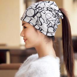 bea604d1f28 2017 New Spring 3 wear ways beanie cashmere hollow beanie   ring scarf warm  hat for women neck warmer bonnet femme