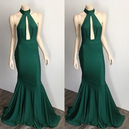 white green dress design NZ - Dark Green Evening Dresses 2019 Modest Design Prom Dress Arabic Real Image Backless Princess Occasion Plus Size Custom Made
