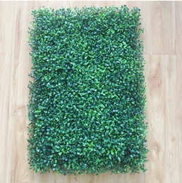 artificial grass carpeting NZ - 40x60cm Green Grass Artificial Turf Plants Garden Ornament Plastic Lawns Carpet Wall Balcony Fence For Home Decor Decoracion