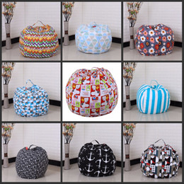 24 inch bag Canada - 24 Inch Children Toy Collecting Tools Storage Bean bag Large Capacity Canvas Pocket Home Bags Useful Rich And Colorful X