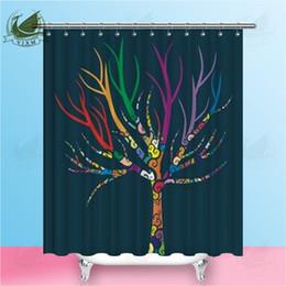 Tree Shower Curtain Fabric NZ