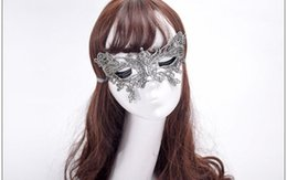 $enCountryForm.capitalKeyWord UK - Lace Venetian Half face flower mask Masquerade Party on stick Mask Sexy Halloween christmas dance wedding Party Mask supplies zx41