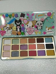 Wholesale 18 Colors Eyeshadow Palettes Animal Matte Eye Shadow Palette High Quality Real Photos Makeup Long lasting Cosmetics