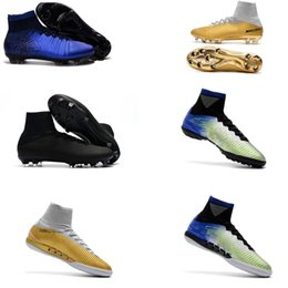 new magista obra boots 2020 - New 2018 Men Mercurial Superfly CR7 FG AG Football Boots Cristiano Ronaldo High Tops Neymar JR ACC Soccer Shoes Magista