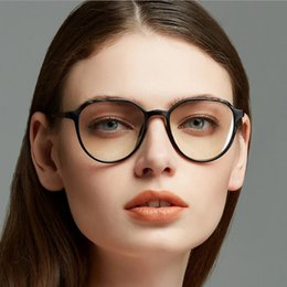 7ea7ab65747 Fashion Women Glass Frame Cat Eye Eyeglasses Frames Eyewear clear lens  Glasses Big Prescription Transparent Optical glasses