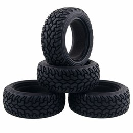 Wheel Modify UK - 4Pcs modified 1.9inch tyre skin 1 10 RC crawler Rubber rally pulled Tyre Wheel Tire width 30mm rc4wd axial SCX10