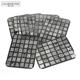 $enCountryForm.capitalKeyWord NZ - Best Deal Good Quality Nail Stamping Printing Plate Manicure Nail Art Decor Image Stamps Plate for Women Lady Beauty M02032