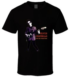 d3b7d7a27d6 Elvis Costello 3 Black T Shirt Quality Print New Summer Style Cotton Men T-Shirt  Lowest Price 100 % Cotton Moda Hombre 2018