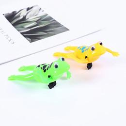 Black Swimming Toys Australia - Shower bath toys children swimming paddle clockwork frog toys