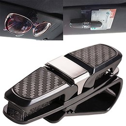 9d71fd1ac1 Car Auto Sun Visor Glasses Sunglasses Card Ticket Holder Clip Accessory  Black Sun Visor Glasses Sunglasses Card Ticket Holder BBA253
