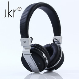 $enCountryForm.capitalKeyWord UK - JKR-219B Wireless Bluetooth Headphones Folding Stereo Music Headset with Mic TF FM Radio Headphone Earphone for Smart Phones PC