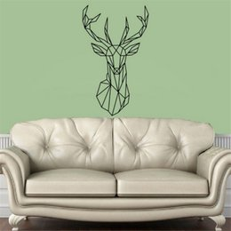 Discount Deer Head Wall Decal Deer Head Wall Decal On Sale - Custom vinyl wall decals deer