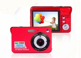 Tft Digital Camera Lithium Australia - Hot 18MP 2.7 Inch TFT LCD Digital Cameras Video Recorder 720P HD Camera 8X Zoom Digital DV Anti-shake COMS HD Video Recoding 3 Colors