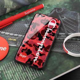 Iphone 6s Case Men NZ - 2018 Men New Designer Phone Case for IPhone X 6 6S 6plus 7 8 7plus 8plus High Street Style Hip Hop Brand Case Cover Phone Case
