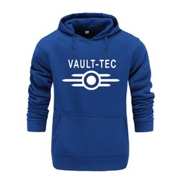 Chinese  Autumn And Winter Brand Vault Tec logo Gaming Video Game Fallout 2 3 4 Casual Apparel Hoodies Sweatshirts Men Vault-Tec Hoodie manufacturers