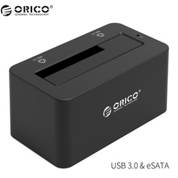 Usb hard drive wholesale online shopping - eSATA HDD Enclosure Gbps Super Speed USB to SATA eSATA Hard Drive Docking Station for quot Hard Drive