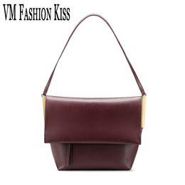 VM FASHION KISS Messenger Single Shoulder Package Womens Crossbody Bags  Handbags Women Famous Brands Simple Atmospheric Handbag 2e4ba44c46