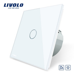 LivoLo switch dimmer online shopping - Livolo EU Standard Switch AC V Remote and Dimmer function Wall Light Switch VL C701DR No remote controller