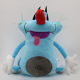 $enCountryForm.capitalKeyWord Canada - French Cartoon Oggy and the Cockroaches Plush Toy Fat Cat Oggy Stuffed Animal Doll