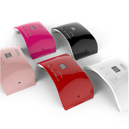 PurPle gel nail Polish online shopping - SUN9SE W UV Lamp LED Nail dryer Double Power for Nail UV Gels Polish USB Charge Nail Art Tools