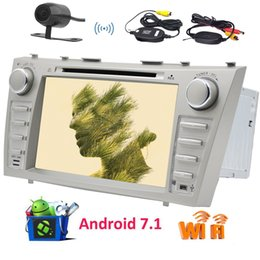 China Wireless Camera!EinCar Double Din Android 7.1 Car Autoradio Stereo Octa Core 8'' Car DVD Player GPS Navigation 2GB RAM 32GB ROM suppliers