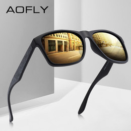 4e0dc39c6a Aofly sunglAsses online shopping - AOFLY BRAND DESIGN Driving Male  Sunglasses Men Polarized Sunglasses Square Style