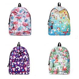 laptop children 2018 - Cartoon Unicorn Backpack For Teenage Girls Children School Bags Women Laptop Backpack Kids Book Bag Schoolbags Best Gift