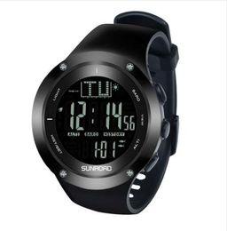 2e06723abfb3 SUNROAD FR722B Pesca Inteligente Relojes Deportivos Hombres Reloj Digital  Al Aire Libre Reloj Que Acampa Impermeable Gran Dial Casual Mens