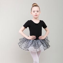 $enCountryForm.capitalKeyWord Australia - children short sleeved spandex gymnastics leotard dance for girls child costume cotton ballet dress leotards girl tutu skirt kid