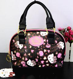 Discount new hello kitty - New Women Girl Hello kitty Bag Messenger bag Shoulder bag Handbags yey-6603-2 D18102303