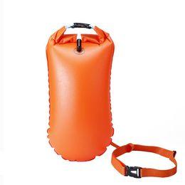 dcdb7f85b228 PVC Waterproof Dry Bag Swimming Backpack Kayak Rafting Drifting Camping  Hiking Rucksack Inflatable Flotation Bag Life Buoy