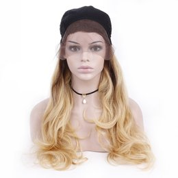 Long Colored Hair Australia - Indian Body Wave Lace Front Human Hair Wigs 26inch Re-Colored Ombre Blonde Lace Wigs For Woman