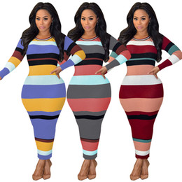 $enCountryForm.capitalKeyWord Canada - 2018 Hot New Fashion Women's Sexy Club Winter vestidos Dress Lady Bodycon Party Bandage Rib Fabric Bodysuits casual evening Long Dresses