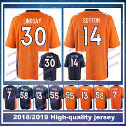 30 Phillip Lindsay 4 Case Keenum Denver Men Bronco jersey 55 Bradley Chubb 58  Von Miller 14 Courtland Sutton 13 Trevor Siemian jerseys e93889d5f