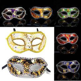 leopard cat woman costume 2019 - P053 Promotion Woman Costume Party Mix Colors Venetian Masquerade Sexy Fashion Cloth Leopard Pattern Half Face Masks