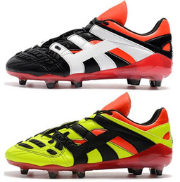 784d6141065 High Ankle Football Boots 18+x Pogba FG Soccer Shoes Predator Accelerator  Electricity FG Soccer Cleats PureControl Purechaos Soccer Cleats