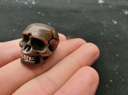 $enCountryForm.capitalKeyWord Australia - Chinese red copper skull small pendant