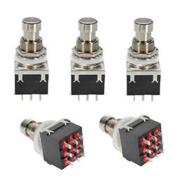 True bypass pedals online shopping - 5X Black PDT Pin Guitar Effects Stomp Switch Pedal Box Foot Metal True Bypass