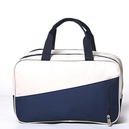 1ac1a34ac0aa Fashion Oxford Wet And Dry Separation Travel Bags Women Men Large Capacity  Portable Luggage Packing Cube Organizer Duffel Bag