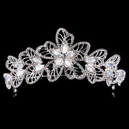Orange Hair Feathers Australia - Bridal accessories Queen Princess hairpin crown bridle diamond hair bridal crown ornament wedding dress accessories