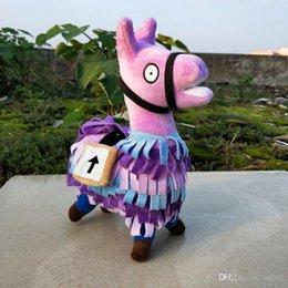 Cute Stuffed Doll Fortnite Stash Animal Llama Plush Toy For Children Kids Birthday Gift Toys Easy Ccarry 25ms BB NZ1309