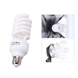 Discount e27 camera - E27 Video Light 220V 5500K 45W Photo Studio Bulb Photography Daylight Lamp Photographic Lighting for Digital Camera Phot