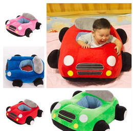 Wholesale Creative Security Cartoon Fasion car Baby Learning To Sit Chair Baby Support Seat Sofa Plush Toys Baby seat