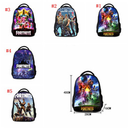 laptop children 2018 - 5 colors Waterproof Game Fortnite Kids School Bag Fortnite Battle Royale Book Backpack Laptop Bag Children Back to Schoo