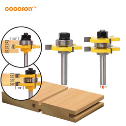 $enCountryForm.capitalKeyWord NZ - 2 Bit Tongue and Groove Router Bit Set Wood Milling Cutter -8mm Shank