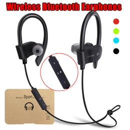 Red coloR mobiles online shopping - 56S Wireless Bluetooth In ear Earphone Sport Stereo Hook Neck Band Headphone Music Player for Mobile Phone with Retail Package