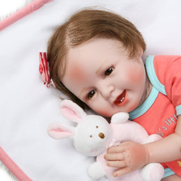 "$enCountryForm.capitalKeyWord Australia - 22"" 55cm Baby Bonecas Girl Silicone Vinyl Doll Adora Lifelike Sexy Toddler New Bebe Reborn Silicone Christmas Toys for Children"