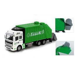 Green Truck Cars Australia - 1:48 Back In The Toy Car Garbage Truck Toy Car A Birthday Present Levert Dropship