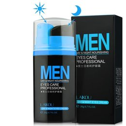 Discount fine men - Men Day and Night Anti-wrinkle Firming Eye Cream 20g Skin Care Black Eye Puffiness Fine Lines Wrinkles Face Care Product